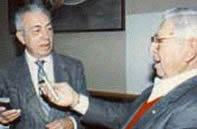 Dr. Hahn and Jose Silva